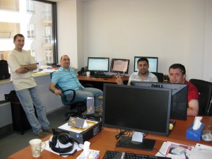 Hayk, Arsen, Grigori and Ed